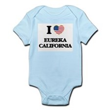 I love Eureka California USA Design Body Suit