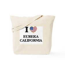 I love Eureka California USA Design Tote Bag