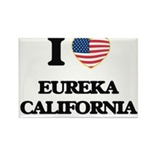 I love Eureka California USA Design Magnets