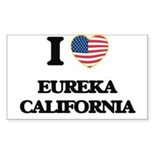 I love Eureka California USA Design Decal