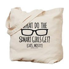 Modern Family What Do Smart Girls Get Tote Bag