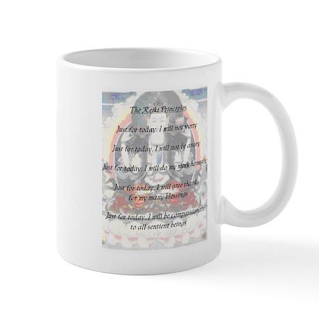 Avalokitshvara Reiki Principles Mug