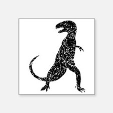 Distressed Tyrannosaurus Rex Silhouette Sticker