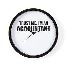 Trust Me, I'm An Accountant Wall Clock