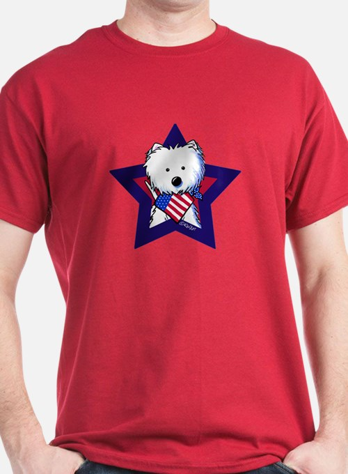Star Speckled Westies T-Shirt