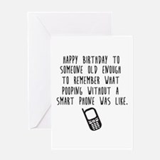 Old Enough Greeting Cards