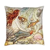 Mermaid Everyday Pillow