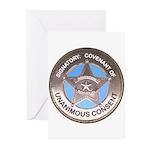 Sovereign & Covenant Badge-Covenant inside (10 Pk)