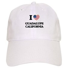 I love Guadalupe California USA Design Baseball Cap