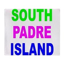South Padre Island Throw Blanket