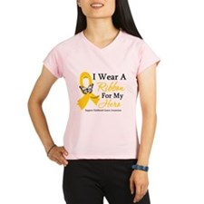 Childhood Cancer Ribbon Performance Dry T-Shirt