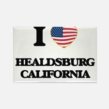 I love Healdsburg California USA Design Magnets
