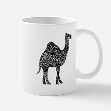 Distressed Camel Silhouette Mugs