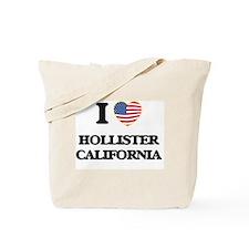 I love Hollister California USA Design Tote Bag