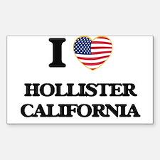 I love Hollister California USA Design Decal