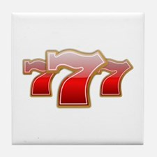 Las Vegas Lucky Sevens Tile Coaster
