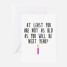 Birthday Optimism Greeting Cards