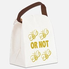 To be or not to be Canvas Lunch Bag