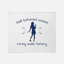 Well Behaved Women Stadium Blanket