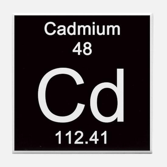 48. Cadmium Tile Coaster