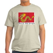 Year of The Dragon Ash Grey T-Shirt
