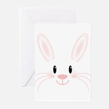 Bunny Face Greeting Cards