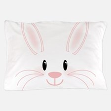 Bunny Face Pillow Case