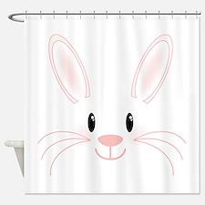 Bunny Face Shower Curtain