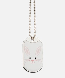 Bunny Face Dog Tags