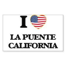 I love La Puente California USA Design Decal