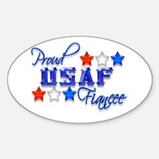 USAF Fiancee Oval Decal