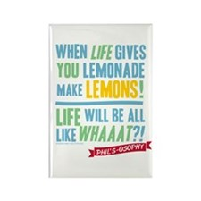 Modern Family Lemonade Rectangle Magnet