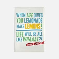 Modern Family Lemonade Rectangle Magnet
