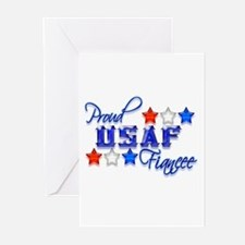 USAF Fiancee Greeting Cards (Pk of 10)