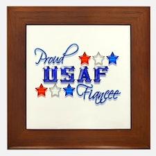 USAF Fiancee Framed Tile