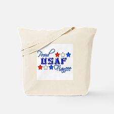 USAF Fiancee Tote Bag