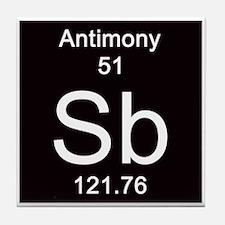 51. Antimony Tile Coaster
