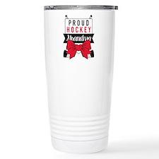 Hockey Grandma Travel Mug