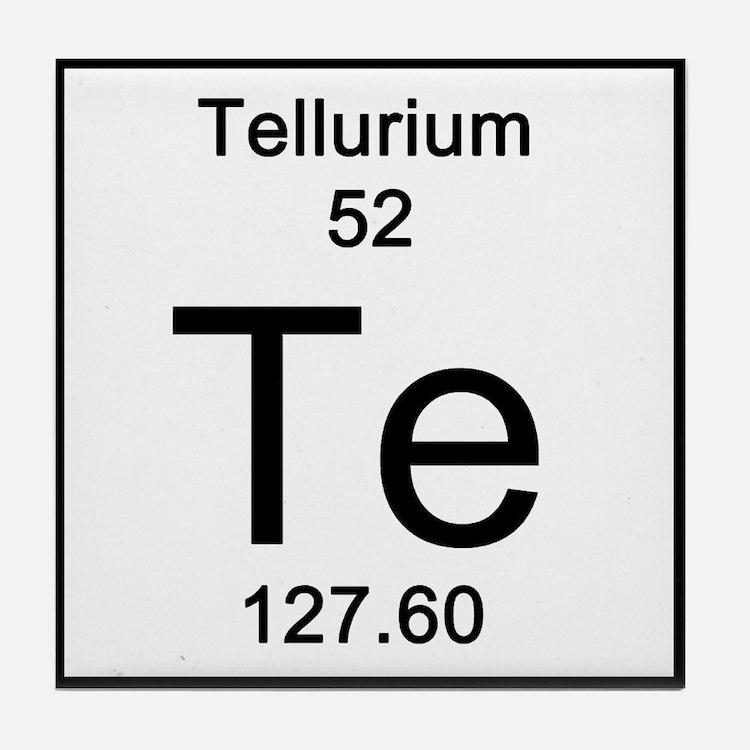 52. Tellurium Tile Coaster
