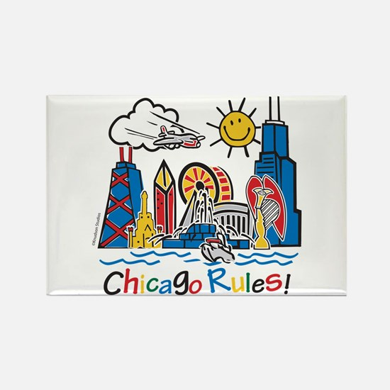 Chicago Rules Magnets