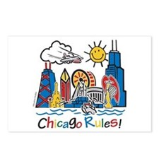 Chicago Rules Postcards (Package of 8)