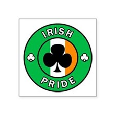 "Ireland Square Sticker 3"" x 3"""