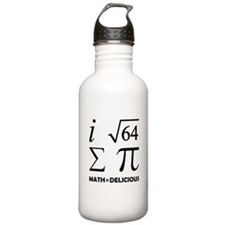 Math=Delicious Water Bottle