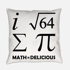 Math=Delicious Everyday Pillow