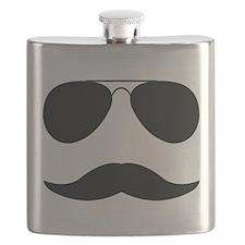 Stylish Moustache Flask