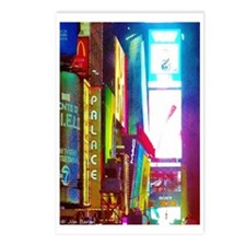 Times Square New York Postcards (package Of 8)