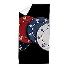 Unique Poker Beach Towel