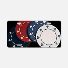 Cute Holdem Aluminum License Plate