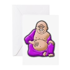 Laughing Buddha Greeting Cards (Pk of 10)