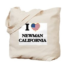 I love Newman California USA Design Tote Bag